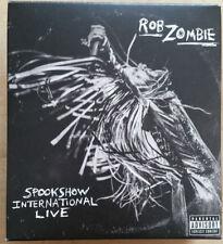 ROB ZOMBIE - Spookshow International Live - BOXSET CD + T-Shirt (L)