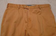 Peter Millar Raleigh Washed Twill Pima Cotton Khaki Pants NWOT $125 33 x 36