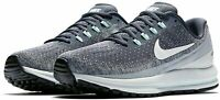 WOMENS NIKE AIR ZOOM VOMERO 13 RUNNING - UK 3.5/US 6/EUR 36.5 - GREY/WHITE/BLACK