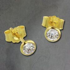 Pendientes de joyería con gemas amarillo oro amarillo no aplicable