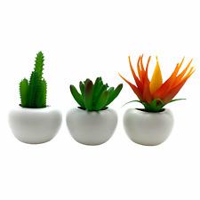 Flor Artificial En Maceta Imanes x3 Nevera Decoración Plantas Decoración vendedor del Reino Unido