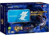 Nintendo 3DS Monster Hunter 4 Hunter Pack Limited Edition Japan Console NEW