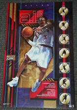 Allen Iverson AI-3 Philadelphia 76ers Sixers Vintage Original 2001 POSTER