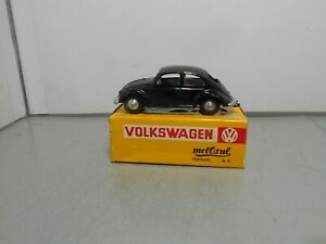 METOSUL made in PORTUGAl VOLKSWAGEN VW rabbit kafer black vintage car with box
