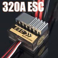 320A Brushed Fahrregler Speed Controller ESC für 1/10 1/8 RC Truck Auto RC630