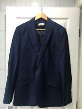 "Reiss Men's 'Venice' Blue Suit Jacket & Waistcoat 38"""