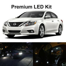 15 x White LED Interior Bulbs + Reverse + Tag Lights For 2016 2017 2018 Altima