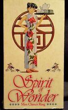 Spirit of Wonder - Miss China's Ring (VHS, 1996, Dubbed)