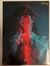Park Bom (2NE1) - Spring (Single) Unfolded Official Poster Hard Tube Case