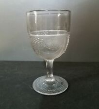 EAPG Powder and Shot Goblet         Sandwich Glass 1870's