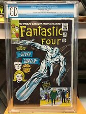 FANTASTIC FOUR #50 SILVER SURFER  Not CGC UNAUTHORIZED VIRGIN back cover
