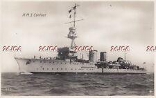 "Royal Navy Real Photo. HMS ""Centaur""  C-class light cruiser. Served WW1. c 1916"
