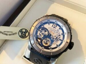 ARMAND NICOLET L09 LIMITED EDITION TIMEPIECE - Only 150 Made Part Skeletonized !