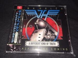 VAN HALEN CRAZY ENGINE COMING 2 CD A Different Kind of Truth 2013 World Tour