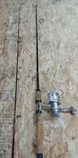 "Vintage Fenwick Legacy LG 65S M-2 6'6"" Spinning Rod 2 Pieces w/ Shimano Reel"