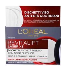 L'oréal Paris Revitalift Laser X3 Dischetti Viso Anti-età Antirughe Peeling Co
