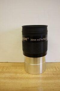 "Meade 2"" 26mm Series 4000 Plossl Telescope Eyepiece 56 Degree AFOV"