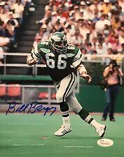 Philadelphia Eagles, Bill Bergey signed 8x10 PHOTO JSA COA
