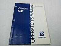 New Holland 1442 operator's manual