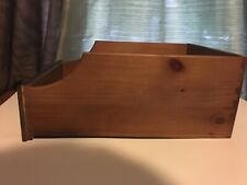 Ethan Allen Wood Shelf Pull Out Drawer Replacement 16.5in X 6.5in X 12in