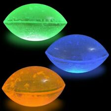 Glow Mini Football ~ Bounce to Break Core ~ Glows For Hours ~ New in Package!