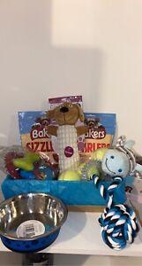 puppy starter kit, Puppy Pack , Puppy Box Full Of Treats