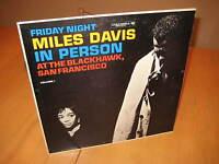MILES DAVIS FRIDAY NIGHT IN PERSON BLACKHAWK SF JAZZ LP RECORD VINYL ALBUM