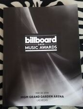2018 Billboard Music Awards Program.  Make Any Offer!