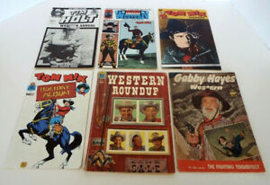 Vintage Comic Book Collection Gabby Hayes Western Roundup Tom Mix Tim Holt
