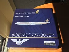 Phoenix Limited Ed. 1:200  777-300ER  Singapore Airlines  9v-swv Heavy Die Cast