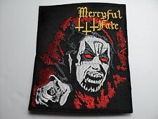 MERCYFUL FATE  RED EYES EMBROIDERED PATCH
