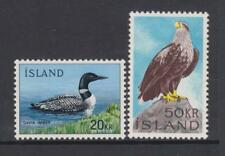 Iceland - SG 430/31 - m/m - 1966/4 - 20k and 50k Birds
