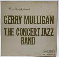 Gerry Mulligan The Concert Jazz Band LP Record Verve Vintage 21-20