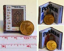 1320# Miniaturbuch - Teppiche der Welt - Puppenhaus - Puppenstube - M 1zu12