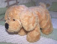 "Gund Puppy Dog Toy TUFFIES 13023 SMALL Beige Tan Plush Stuffed  7"" EUC"