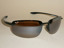 Brand NEW Authentic Polarized MAUI JIM HOOKIPA Sunglasses Black Frame H407-02