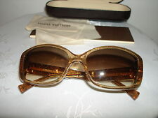 Authentic Very Rare Hand Made In France Sunglasses Louis Vuitton Hard Case Box