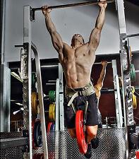 Black Brute Belt - dip pullup pull-up squat hip belt - Small