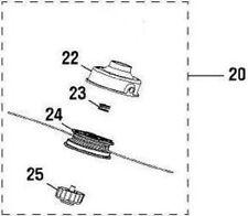 OEM 983797001 000998265 TRIMMER HEAD ASSEMBLY Craftsman Homelite Toro Ryobi