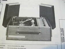 EMERSON 32P15 PHONOGRAPH PHOTOFACT