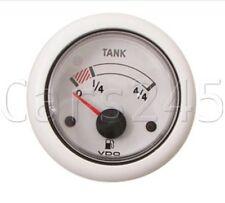 VDO Ocean Line white Fuel Gauge 52mm 12 V N02-222-502