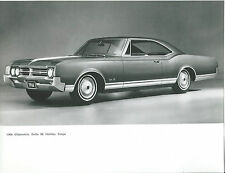 Oldsmobile Delta 88 Holiday Coupe 1966 Original Press Photograph