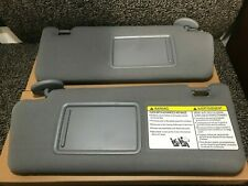 2005 2012 Toyota Tacoma Gray Sun Visor Visors Pair Left & Right Quality Look