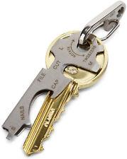 KeyTool TU247 Keyring Multi-tool - Stainless Steel - 8 Tools in One! *NEW*