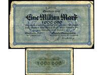 ALLEMAGNE  1000000  mark 31 / 12 / 1923  ( 45137  )