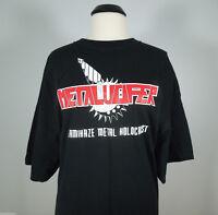 METALUCIFER Kamikaze Metal Holocaust T-Shirt (R.I.P. Records) size L (NEW)