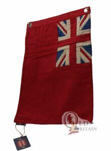 British Red Ensign Duster End | Nautical Boating Flag - Error on back