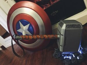1:1 Scale The Avengers Thor Hammer Full Metal 3.0 Model Figure Prop Cosplay Toy