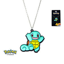 OFFICIAL NINTENDO'S POKEMON SQUIRTLE PENDANT ON CHAIN NECKLACE (NEW)