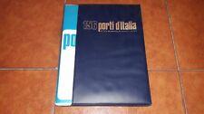 156 PORTI D'ITALIA ED. DE AGOSTINI 1971 156 MAPPE CARTE NAUTICHE TAVOLE A COLORI